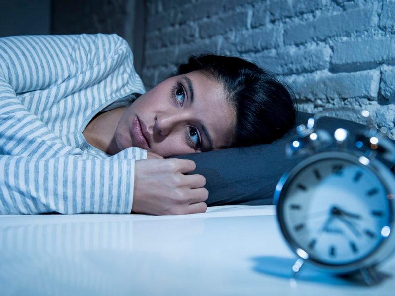 Lo mejor que se puede hacer en caso de insomnio en medio de la noche